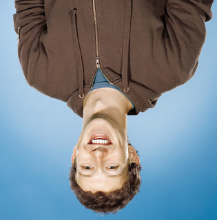 Mark Zuckerberg Upside down