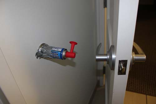 awesome pranks door