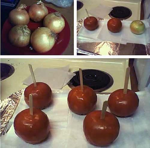 awesome pranks onion apple