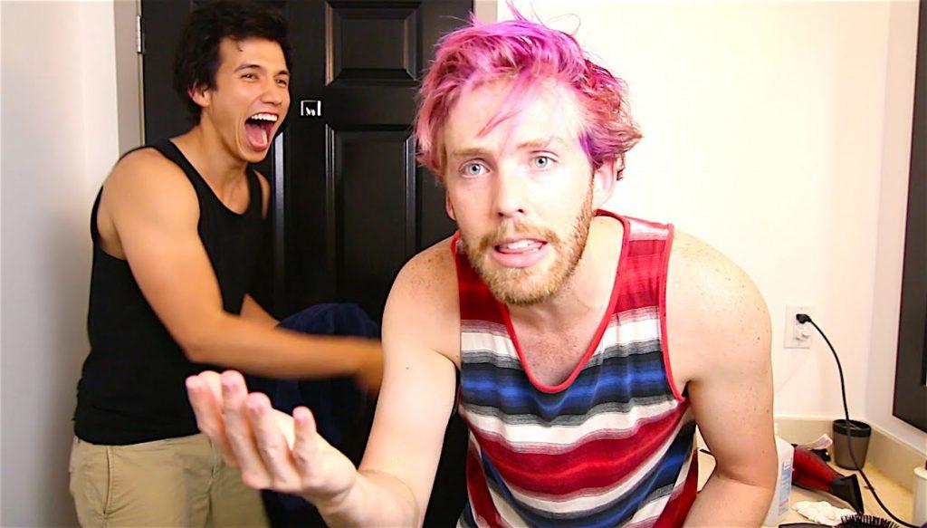 hair dye prank