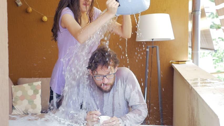 water prank