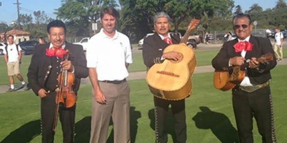 Mariachi Band Prank